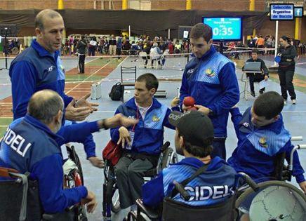 Agustín Molpeceres viajará a los Juegos Paralímpicos