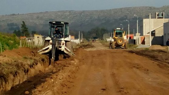 El Municipio comenzó con las obras para prevenir inundaciones
