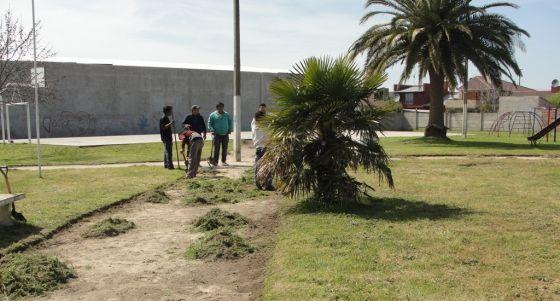 El Municipio continúa con los trabajos en el ejido urbano