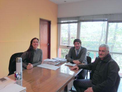 Cavuoti se reunió con autoridades de PAMI