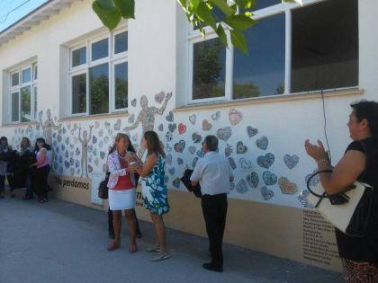 Fue descubierto el mural que rinde homenaje al Dr. René Favaloro