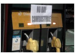 no hay nafta