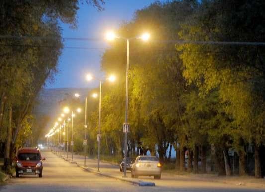 Luminarias en Dorrego 2
