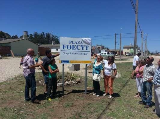 Inauguracion de Plaza Foecyt