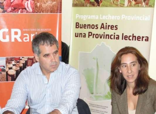 Ruzza con Garcia en INTA