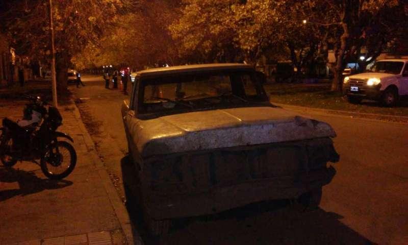 Operativo_camioneta secuestrada