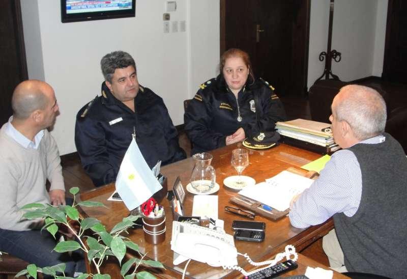 Reunion con Comisario Mayor Torres