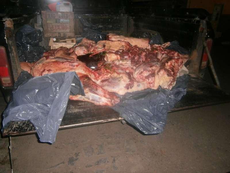 carne secuestrada