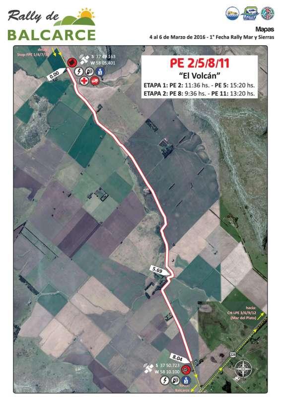 Mapa Prueba Especial Balcarce 2016 V3